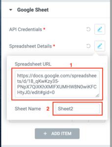 google sheet url